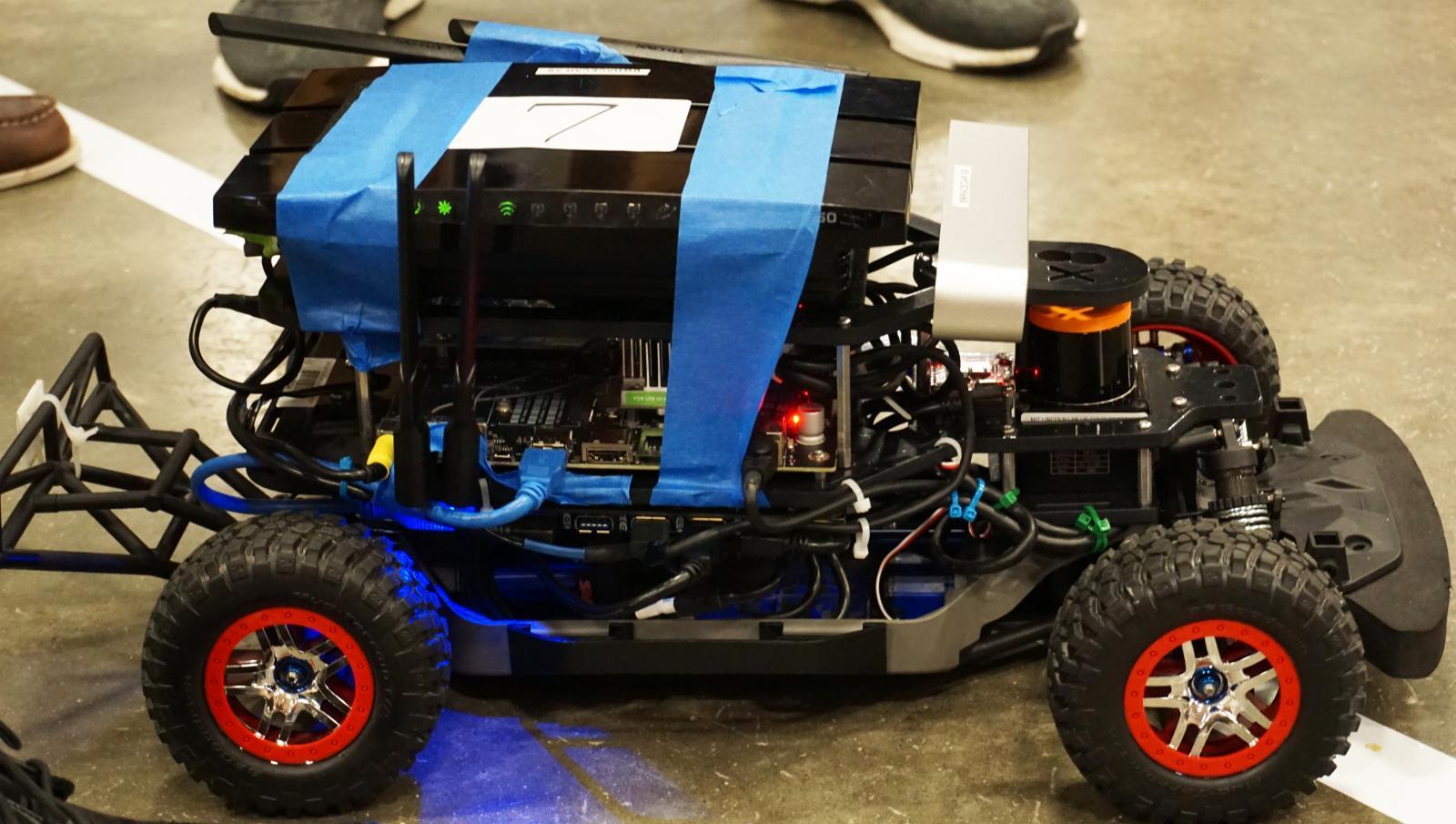High school students engineer autonomous race cars, cognitive